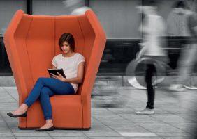 S'isoler du bruit avec le fauteuil Beatnik Sound Station